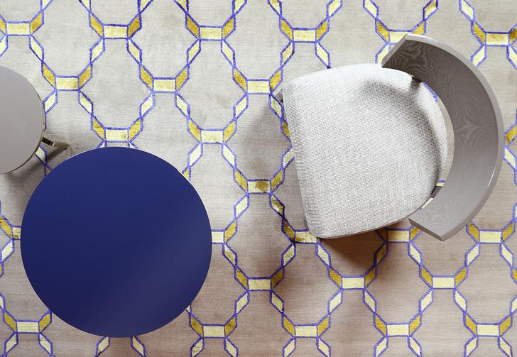 Авангард, лестницы и море: ковры от русских дизайнеров (фото 8)