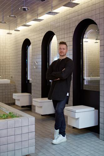 Bathroom Biennale: ванная комната «Четыре элемента» от Максима Лангуева (фото 1.2)