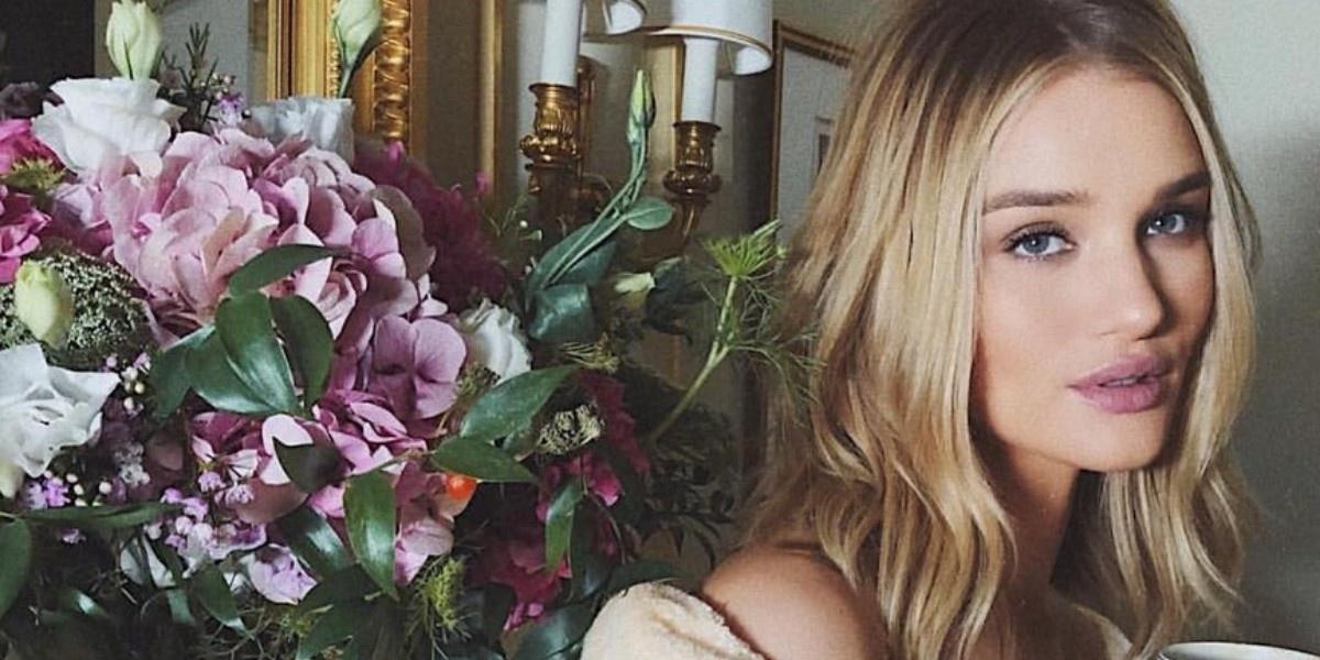 Свежесть розы: 5 главных секретов красоты Роузи Хантингтон-Уайтли