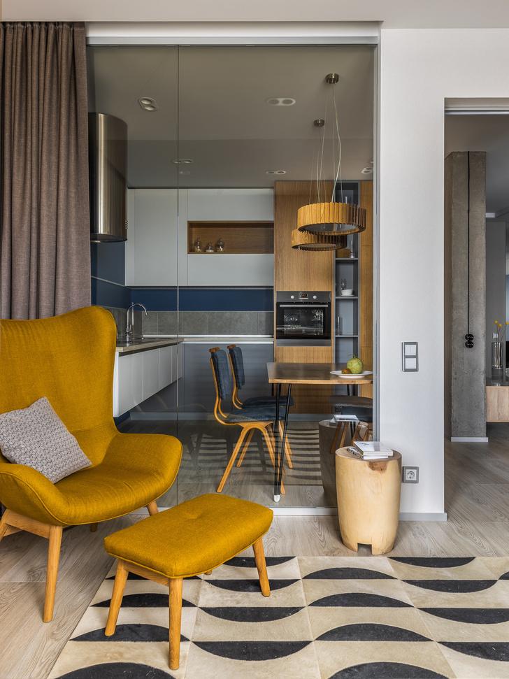 Яркая квартира 65 м² в Саратове с видом на Волгу (фото 7)