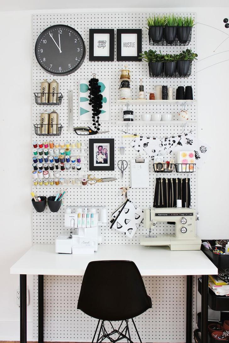 Компактное хранение: 8 вдохновляющих идей (фото 9)