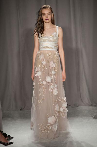 На Неделе моды в Нью-Йорке прошел показ бренда Marchesa