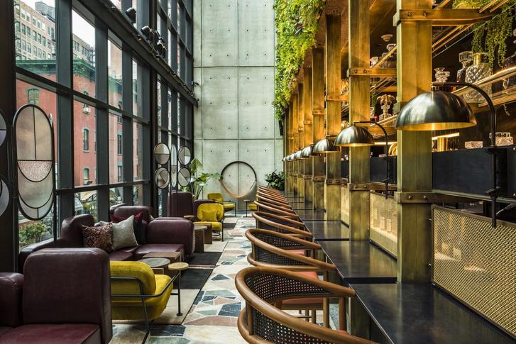 Дизайнерский отель с микро-номерами в Нью-Йорке (фото 0)