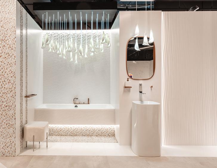 Четыре дизайн-пространства в шоуруме Globus Ceramica (фото 17)