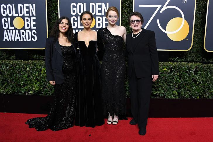 Феноменально похудевшая Натали Портман затмила всех на «Золотом глобусе» (фото 6)
