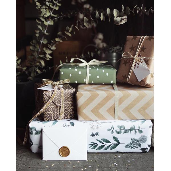 Как красиво упаковать новогодние подарки? (фото 15)