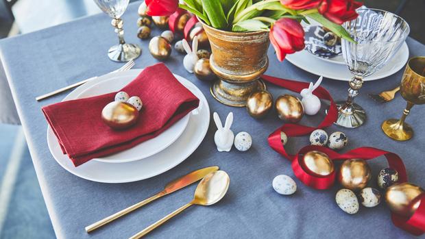 Как украсить праздничный стол к Пасхе ? (фото 12)