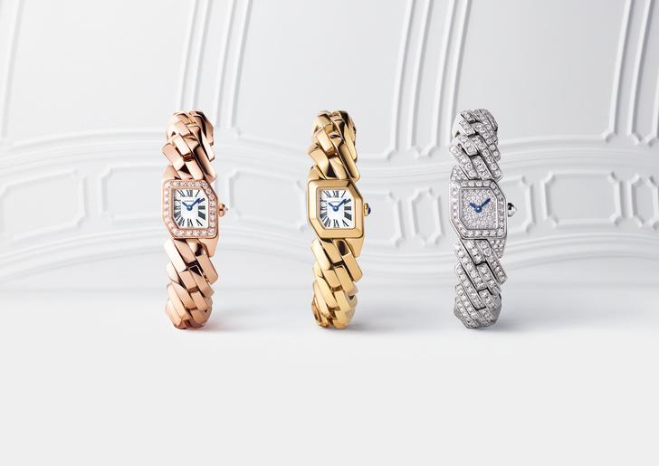 Новые и очень красивые часы Maillon de Cartier поступили в продажу (фото 5)