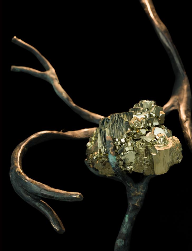 Orpheus Malachite: новые фантазийные светильники Brand Van Egmon (фото 4)
