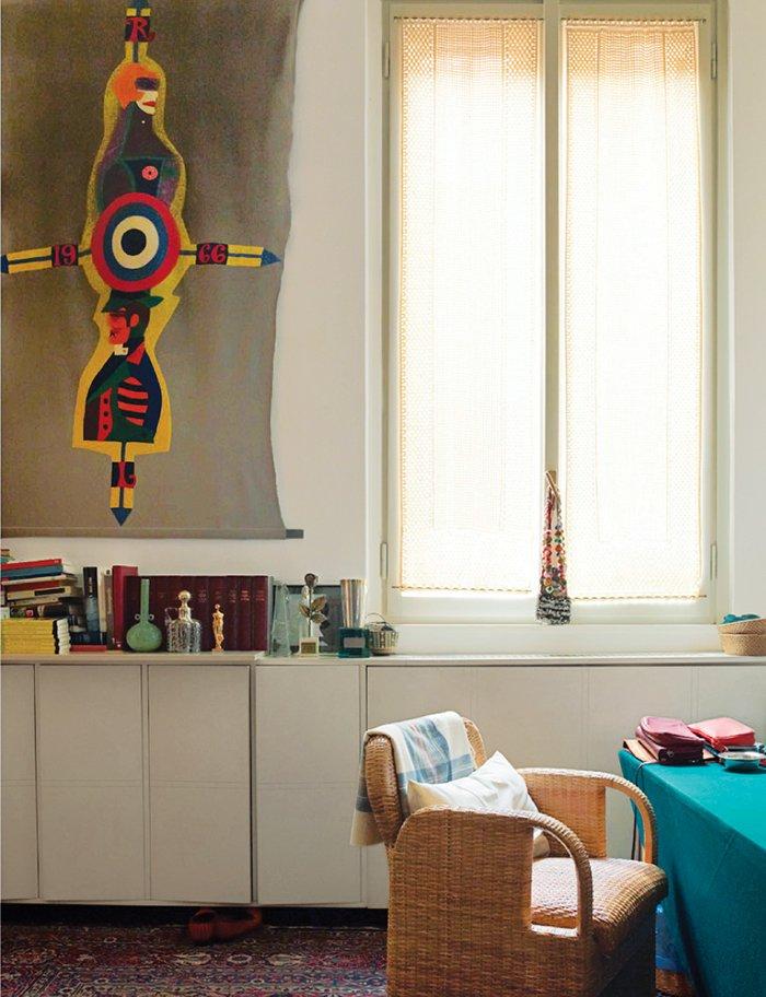 Дом-легенда: миланская квартира Гаэ Ауленти (фото 7)