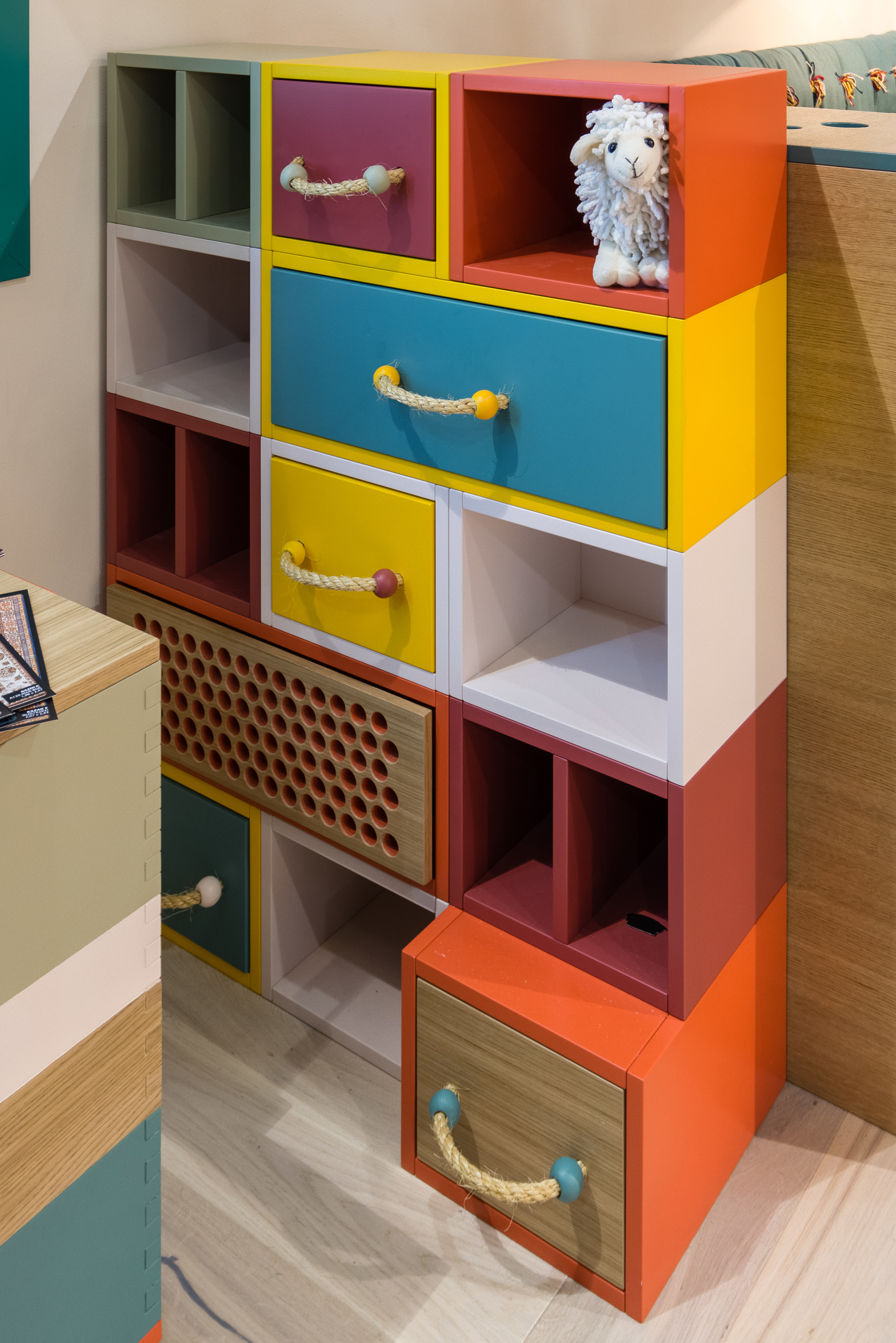 Веселые ребята: детская мебель дизайнера Натальи Гусевой (галерея 8, фото 1)