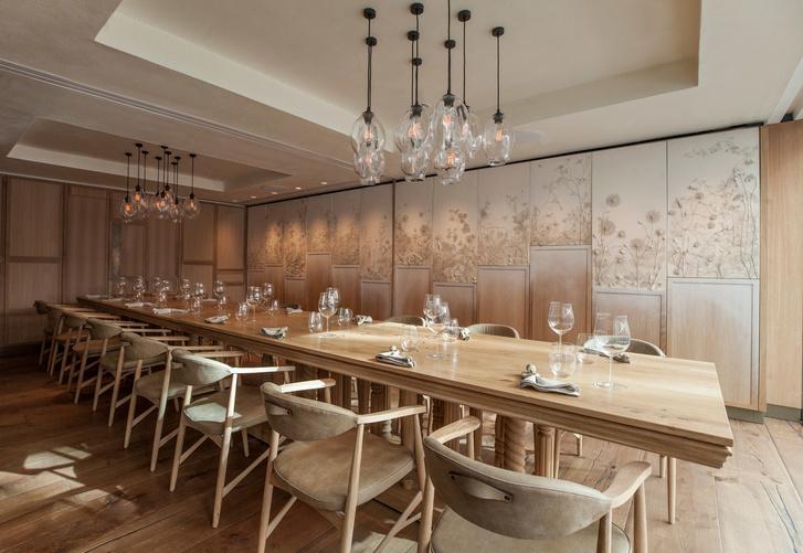 Интерьеры ресторана Hide Евгения Чичваркина (фото 14)