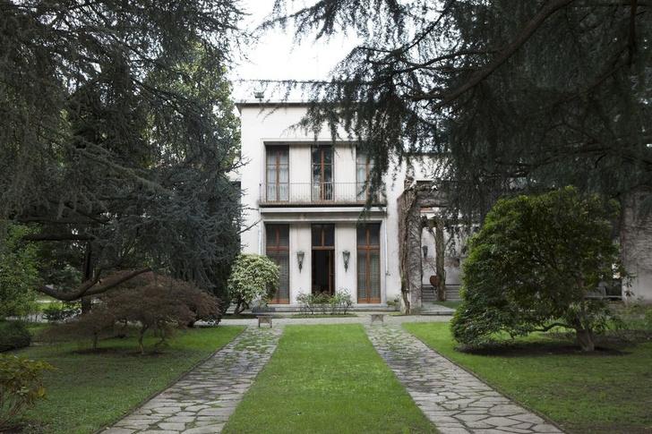 Дом-легенда: вилла Освальдо Борсани в Италии (фото 0)