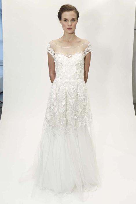 Коллекция Lela Rose на Неделе свадебной моды