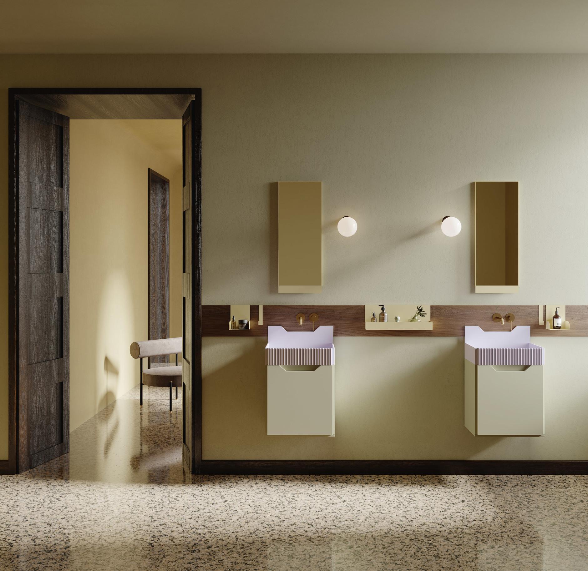 Ванная комната в стиле Роя Лихтенштейна от Ex.t (галерея 12, фото 2)