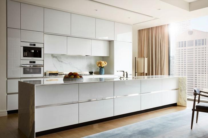 Апартаменты в доме по проекту Жана Нувеля в Нью-Йорке (фото 12)