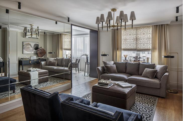 Сто к одному: квартира 100 м² для холостяка (фото 0)