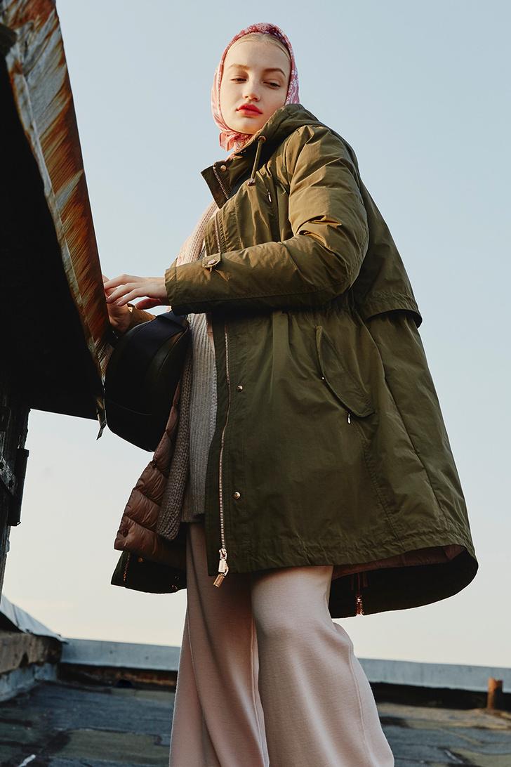 Модный аксессуар: 10+ осенних образов с шелковым платком фото [18]