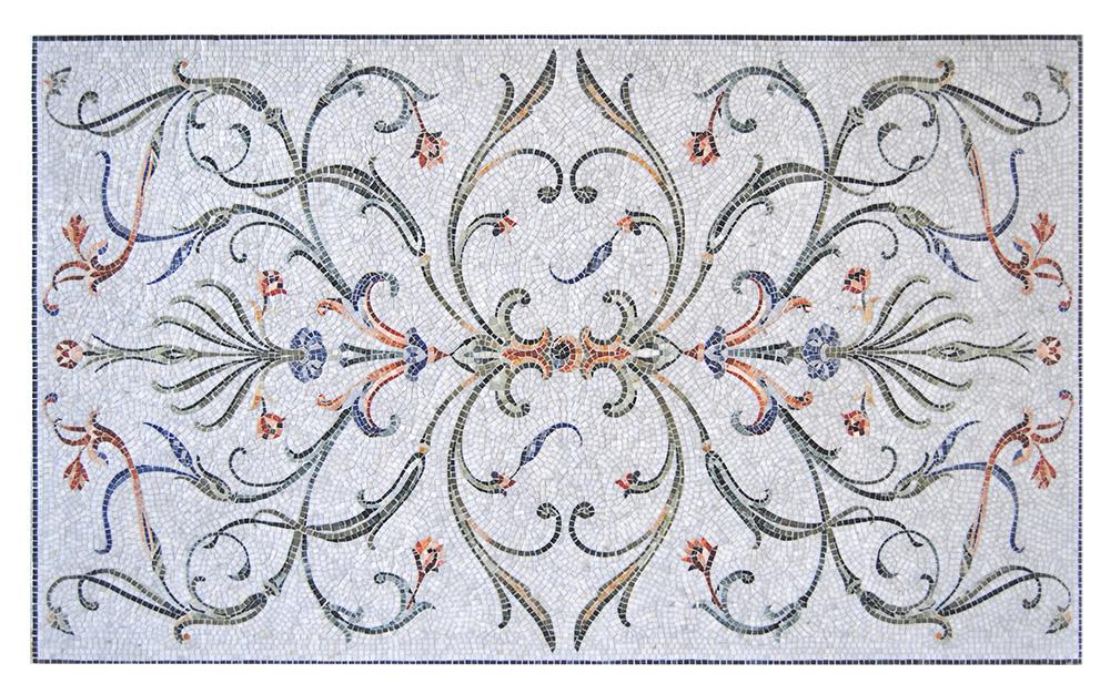 Мозаика San Pietroburgo, Friul Mosaic, салон «Музей cовременной cантехники».