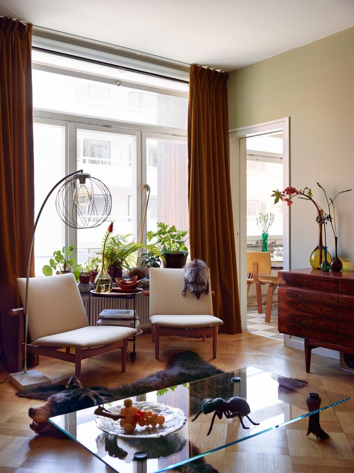 Креативная квартира стилиста и модели Урсулы Венгадер (фото 2)