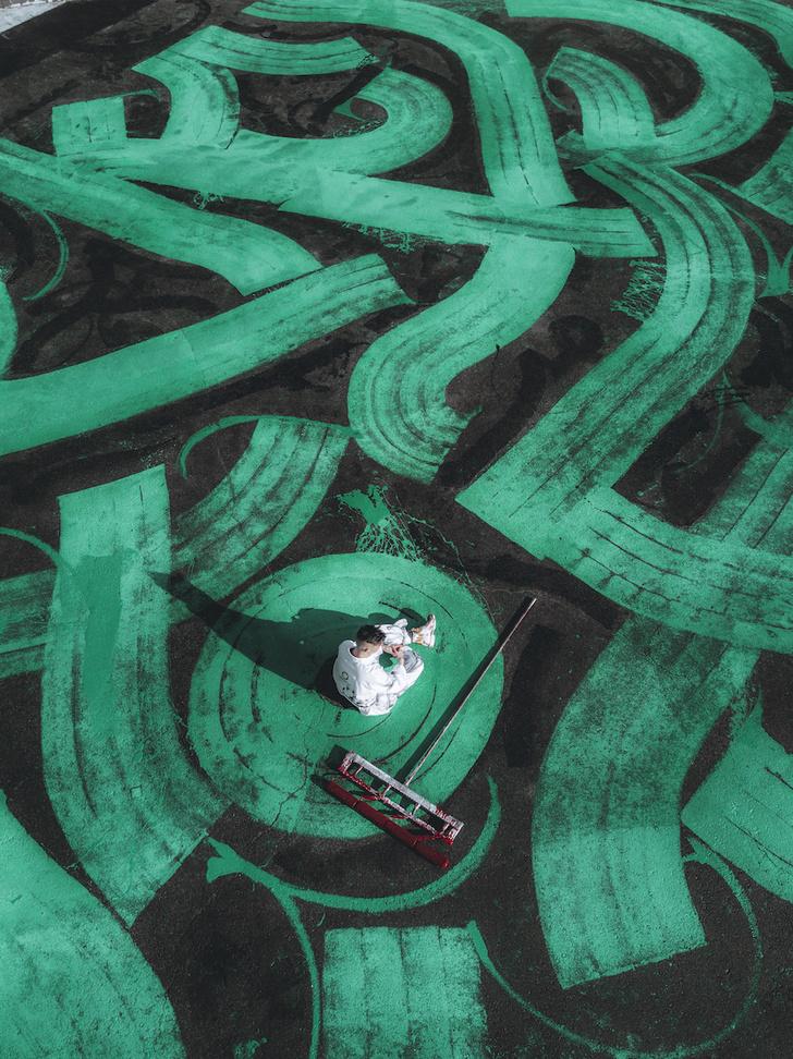 Новый арт-объект Покраса Лампаса: самое большое граффити в мире! (фото 0)