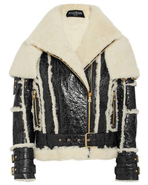 Куртка кожа с мехом женская фото