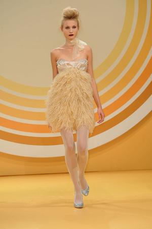 Показ Jenny Packham коллекции сезона Весна-лето 2010 года Prêt-à-porter - www.elle.ru - Подиум - фото 112235