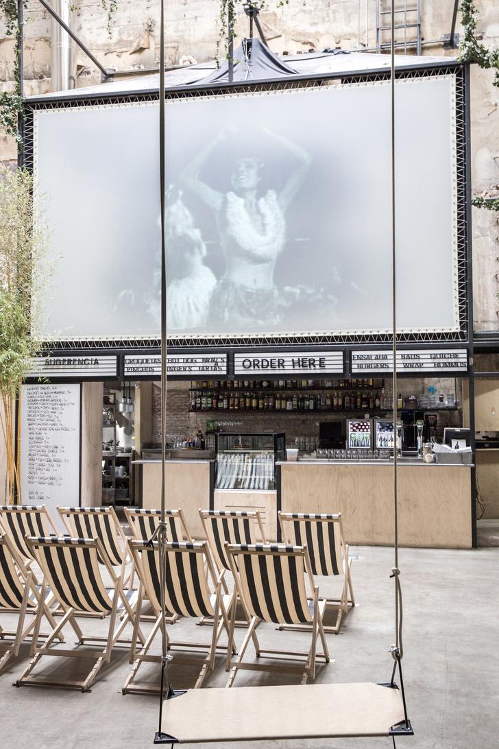 Ретро-кинотеатр в Мадриде: проект студии Plantea (фото 0)