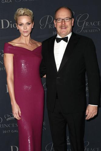 Князь Альбер и княгиня Шарлен на Princess Grace Awards в Лос-Анджелесе фото [1]