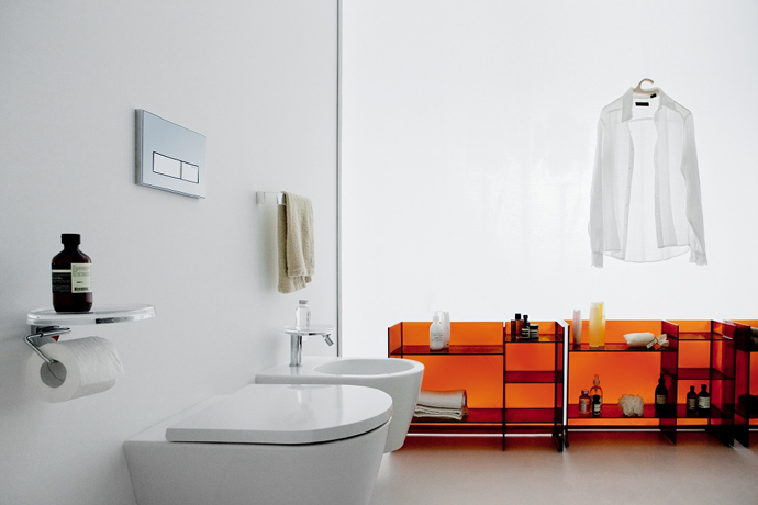 Kartell, Laufen, мебель для ванной, сантехника, ванная комната, дизайн