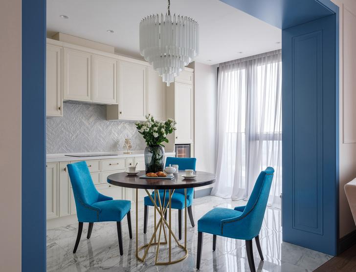 Квартира с синим порталом (фото 8)