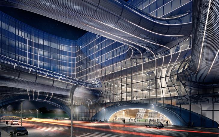 Главные проекты Zaha Hadid Architects в России (фото 16)