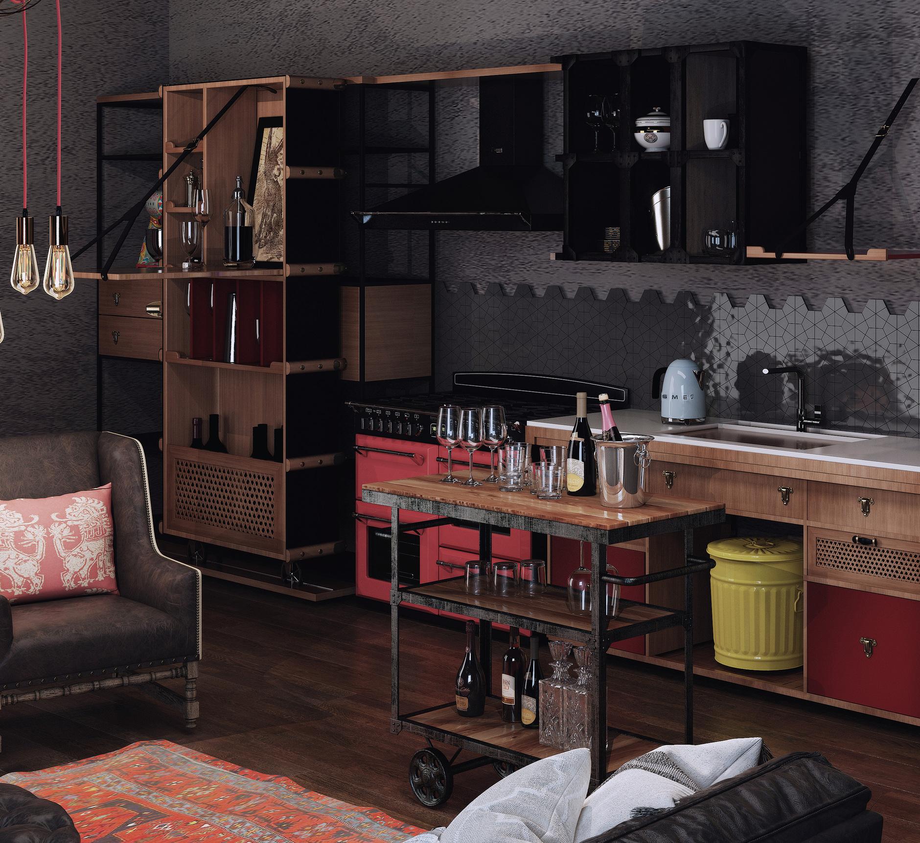 «Кухня в стиле Smeg»: итоги конкурса (галерея 8, фото 2)