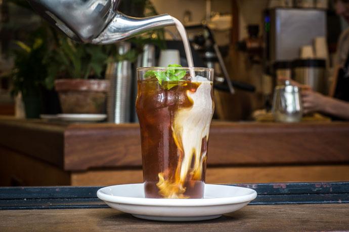 ледяной кофе рецепт