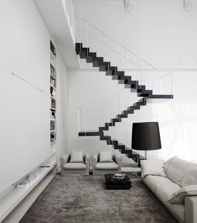 Топ-10: самые необычные дизайнерские лестницы | галерея [4] фото [3]