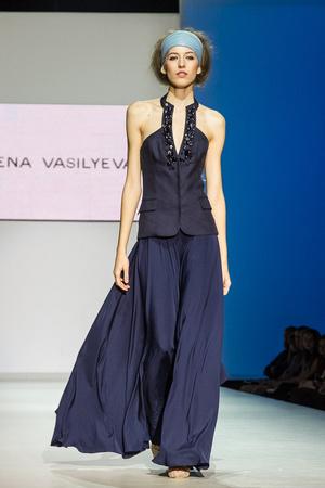 Показ Lena Vasilyeva коллекции сезона Весна-лето 2013 года Prêt-à-porter - www.elle.ru - Подиум - фото 469056