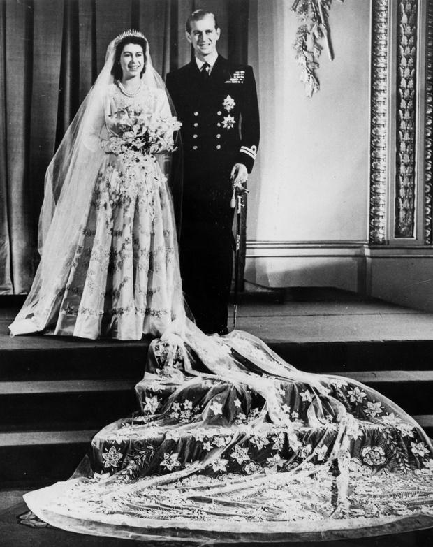 Свадьба Елизаветы II и принца Филиппа фото