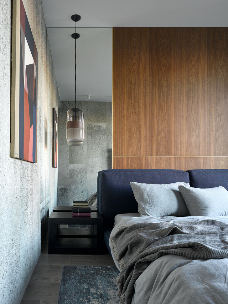 Брутальная квартира 78 м² с элементами минимализма (фото 10)