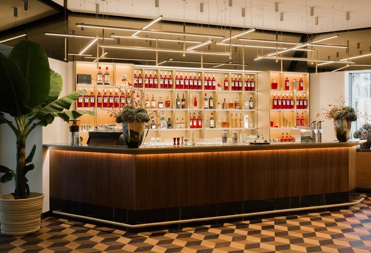 Dolce vita: Cambari Bar по дизайну Маттео Туна в Вене (фото 0)