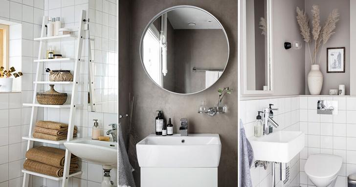 Маленькая ванная: 7 главных правил (фото 1)