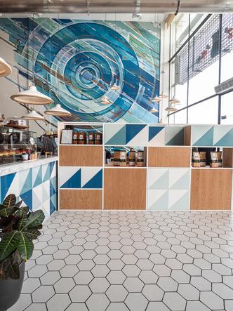 Кафе Liqui Design Completes its Third Brew92 Coffee Shop (фото 3.1)