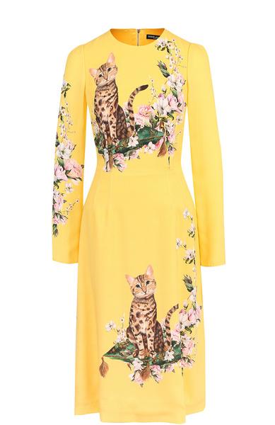 желтое вечернее платье 2018 фото