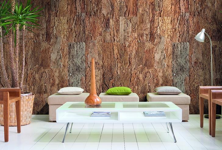 Пробковые стеновые панели, Amorim, — отличная звукоизоляция.