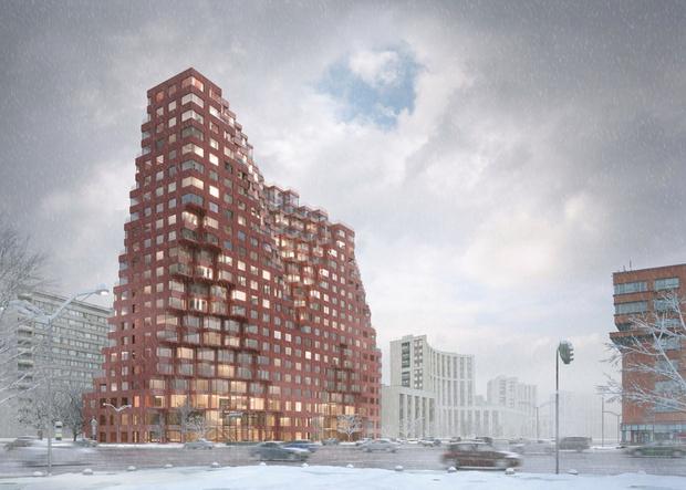В Москве появится 80-метровая башня по проекту MVRDV (фото 0)