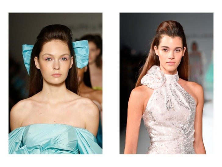 Банты и начесы: ретро укладки Ralph & Russo Couture Spring 2020 (фото 1)