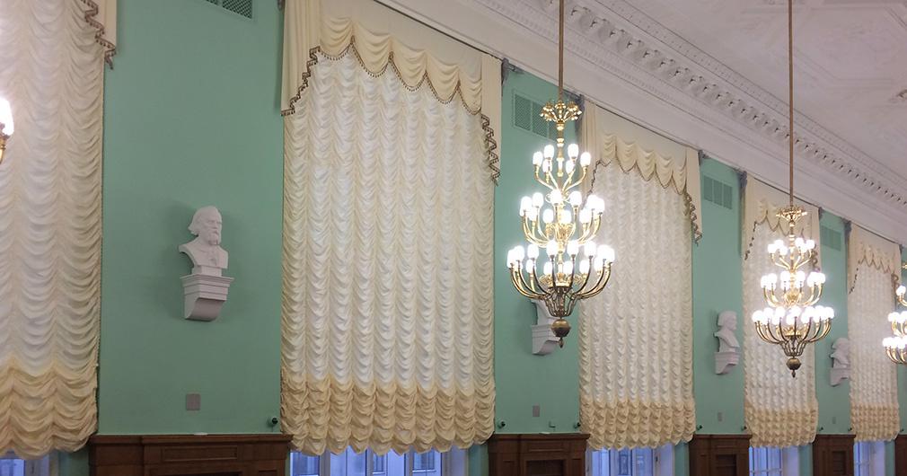 Закончилась реставрация главного читального зала РГБ (галерея 1, фото 2)