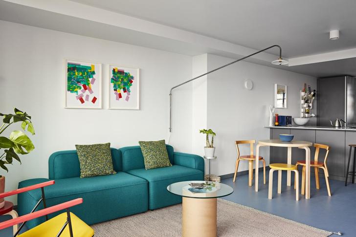 В лондонской Balfron Tower открыли две шоу-квартиры с обстановкой (фото 0)