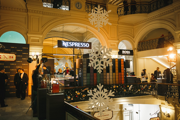 Бутик Nespresso в ГУМе