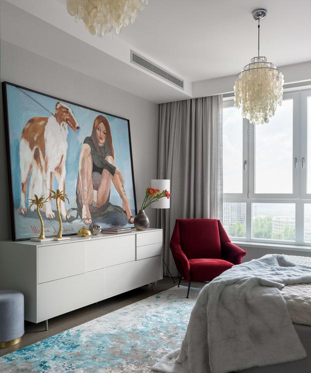 Проект Жени Ждановой: современная квартира в Москве (фото 10)