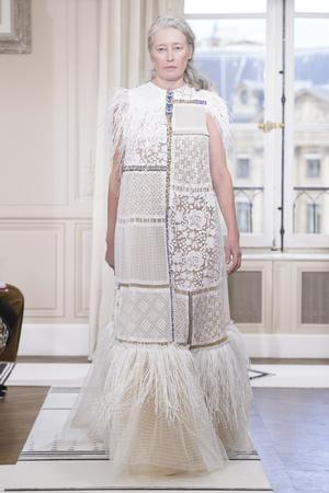 Показ Schiaparelli коллекции сезона Весна-лето 2018 года Haute couture - www.elle.ru - Подиум - фото 671301
